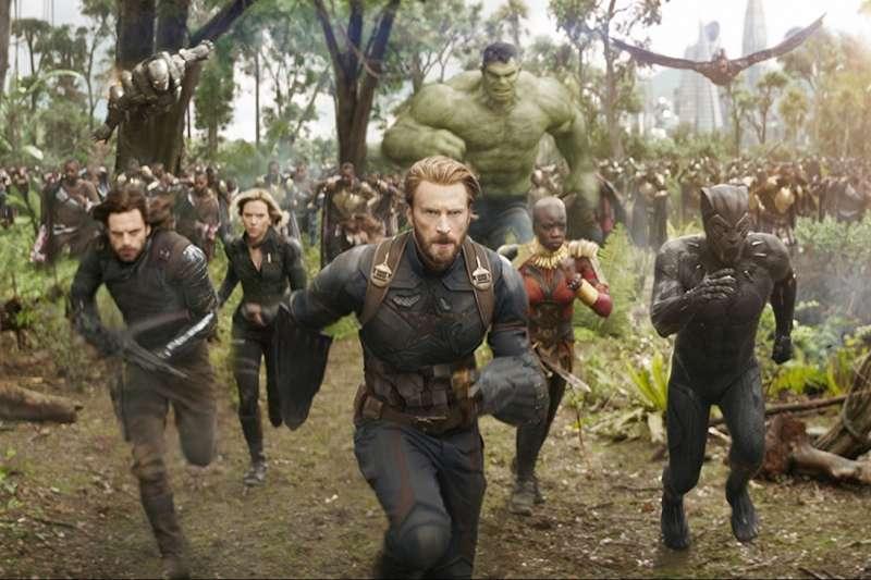 復仇者聯盟3是漫威十年磨一劍的集大成作品,首週票房達到2.86億,順利突破系列首周票房紀錄(圖/IMDb)