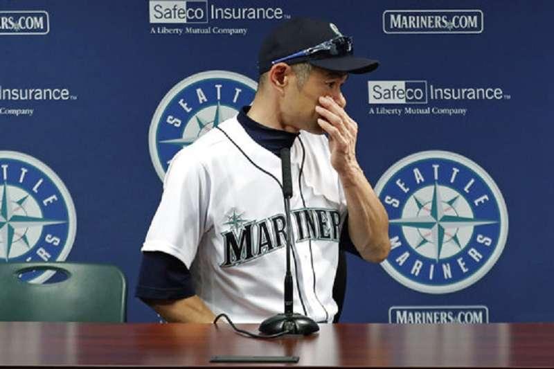 水手宣布一朗轉任球團特別顧問,這對不想退休的一朗來說形同逼退。(美聯社)