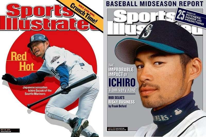 鈴木一朗兩度登上《運動畫刊》雜誌封面都在水手時代,會不會還有第3次呢?(翻拍自《運動畫刊》雜誌)