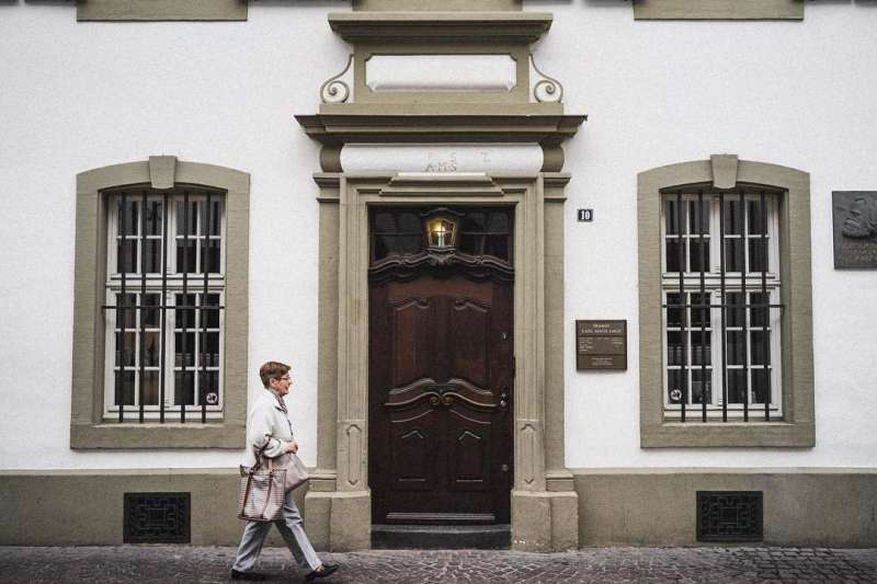 200年前的5月5日,馬克思誕生在特里爾的這棟建築內。(Théo Paul@Flickr/CC BY 2.0)