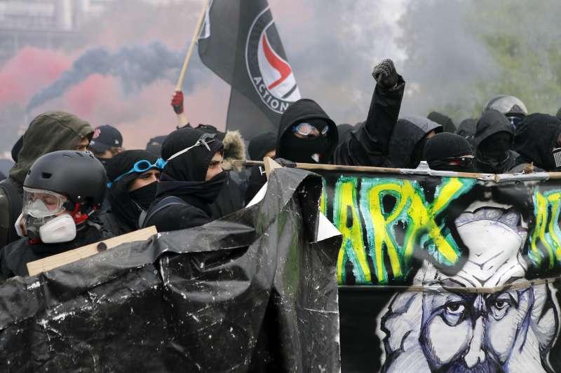 2018年,馬克思(Karl Marx)200年誕辰,法國紀念1968年五月學運也可見到馬克思(AP)