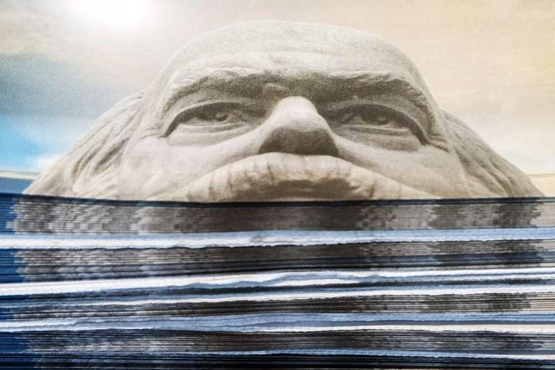 2018年,馬克思(Karl Marx)200年誕辰,德國耶拿(Jena)舉行特展(AP)