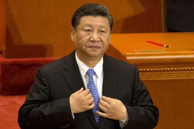 2018年,馬克思(Karl Marx)200年誕辰,中國舉行紀念大會,習近平致詞(AP)