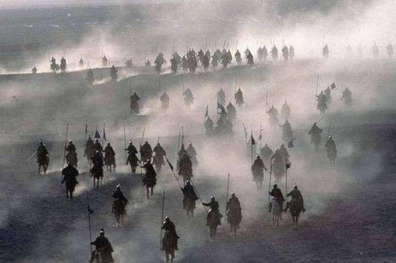 東漢末與鮮卑發生戰爭(劇照)