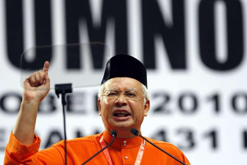2018馬來西亞國會大選9日登場,總理納吉力保政權(AP)