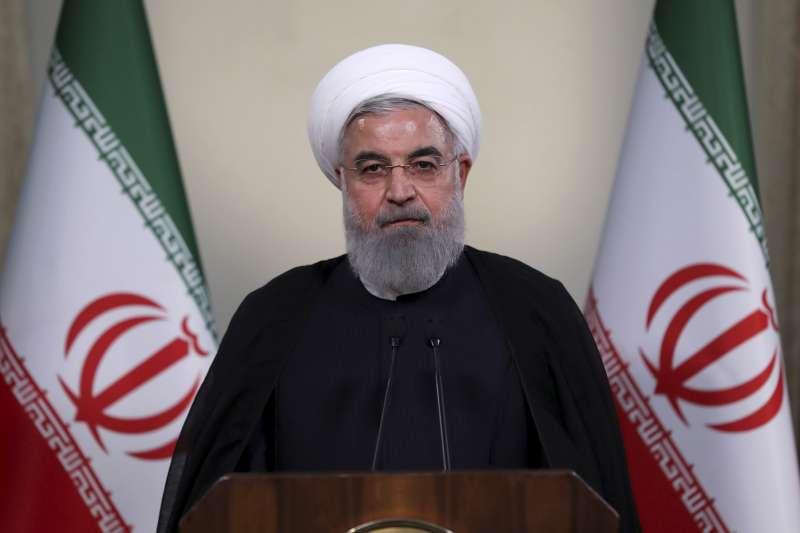 2018年5月8日,美國總統川普宣布退出伊朗核子協議,伊朗總統魯哈尼(Hassan Rouhani)下令伊朗原子能組織做好準備,必要時重新啟動「不受限制」的鈾濃縮計畫(AP)