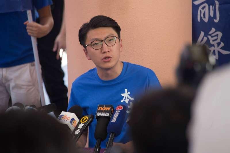 梁天琦雖然竭力輔選、協助友黨拿下議席,但參與政治造成的衝擊,即將因旺角騷亂面臨徒刑。(取自梁天琦 Edward Leung臉書)