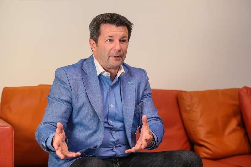 20180510-法國新創企業家賈奎(Denis Jacquet)專訪。(顏麟宇攝)