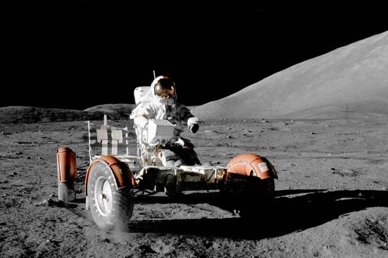 1972年12月,阿波羅17號(Apollo 17)登月任務順利展開,也是人類迄今最後一場登月任務(AP)