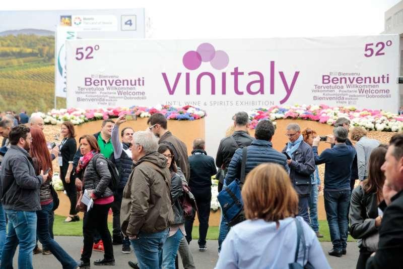 義大利VINITALY酒展。(VINITALY官方臉書)