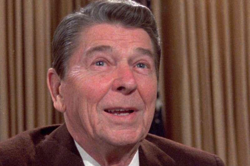 美國前總統雷根(AP)