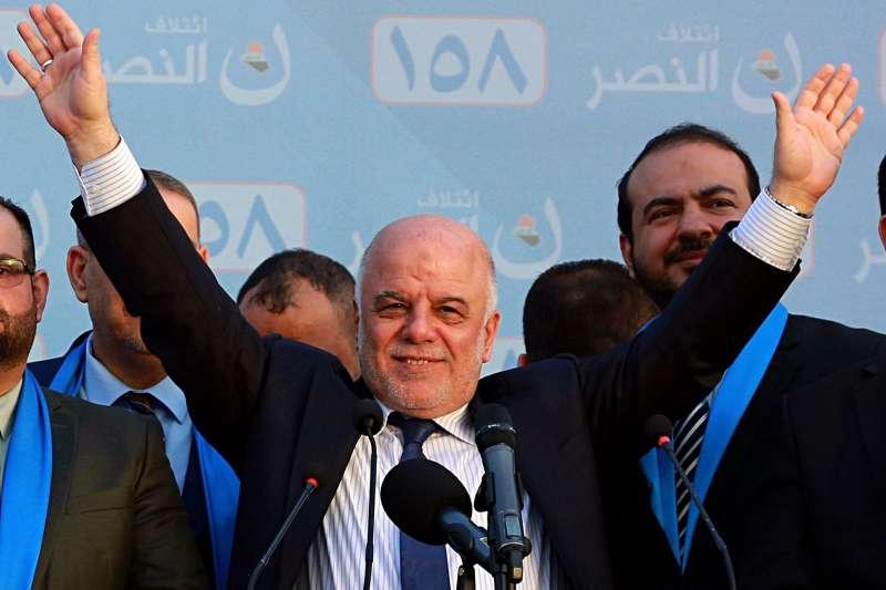 2018年5月12日,伊拉克舉行國會大選,現任總理阿巴迪有望繼續執政。(AP)
