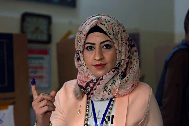 2018年5月12日,伊拉克舉行國會大選。(AP)