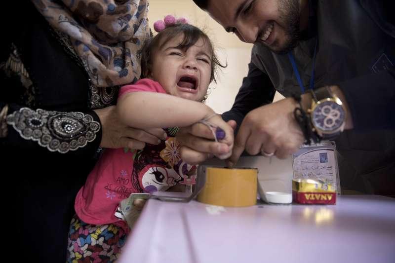 2018年5月12日,伊拉克舉行國會大選(AP)
