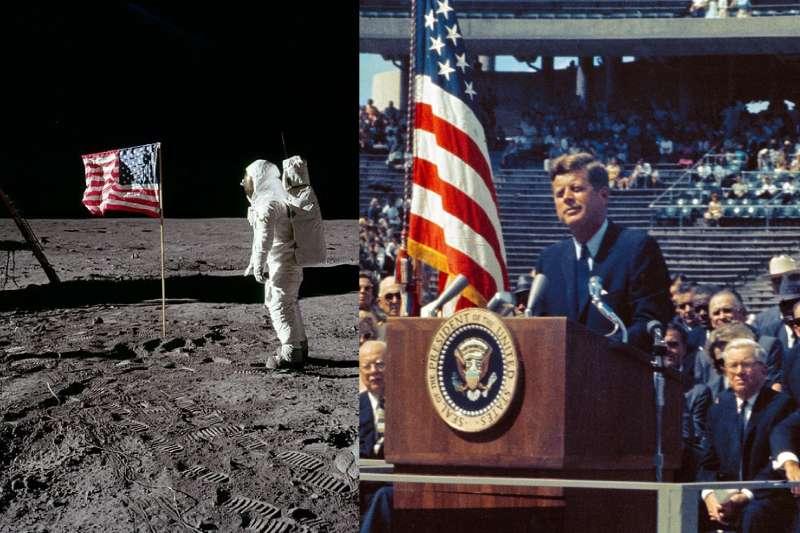 當全世界都以為上太空是無稽之談,甘迺迪總統是如何用17分鐘的演講,就成功說服百萬人支持NASA計劃呢?(圖/維基百科)