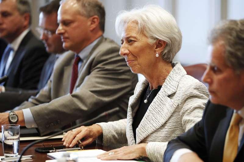 阿根廷貨幣危機:國際貨幣基金(IMF)總裁拉嘉德(AP)