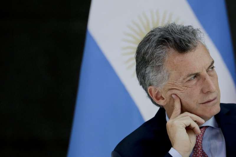 阿根廷貨幣危機:阿根廷總統馬克里(AP)