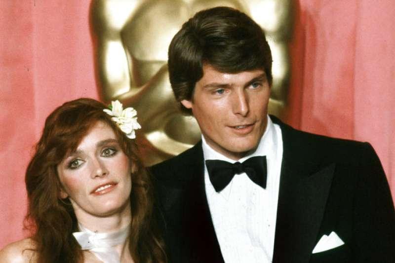 在1978的超人電影中,飾演超人及超人女友的與克里斯多夫李維(Christopher Reeve)與瑪格基德(Margot Kidder)。(美聯社)