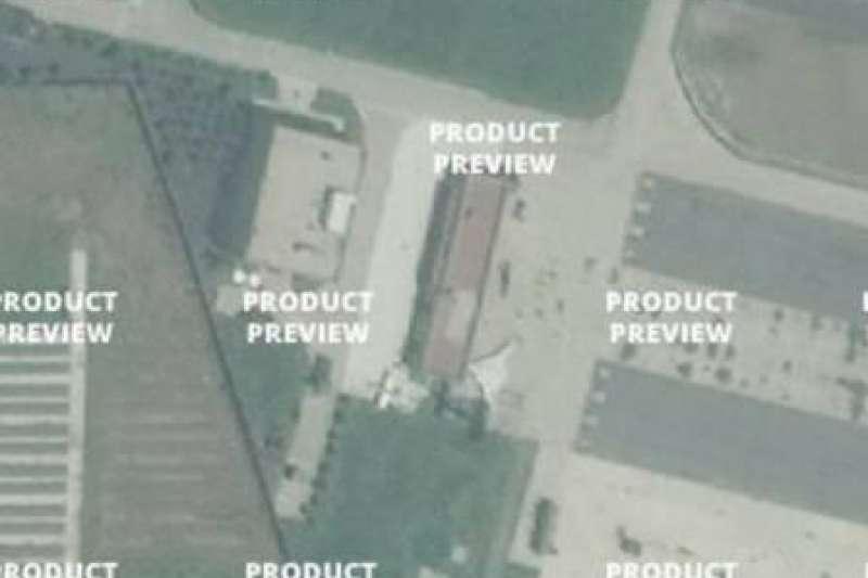 疑似轟-20的衛星空拍照。