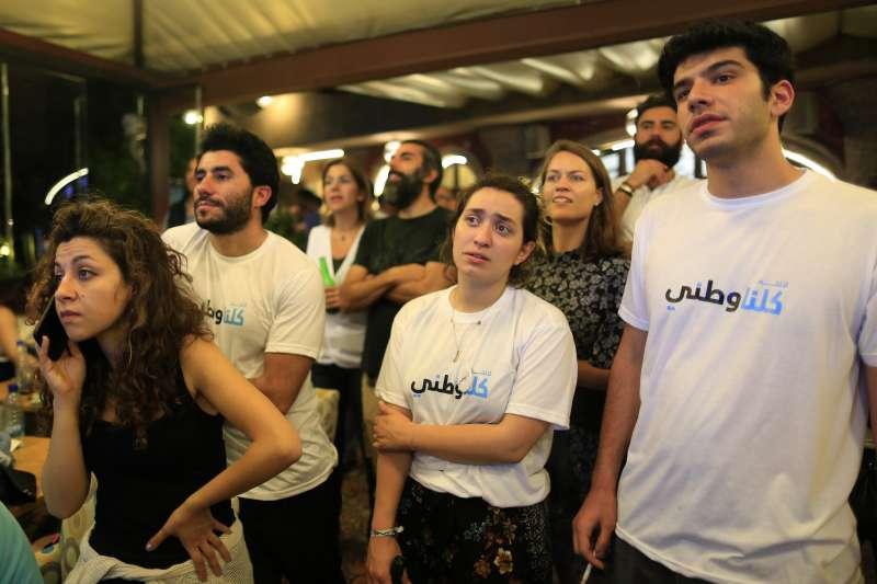 2018年5月6日,黎巴嫩舉行國會大選。(AP)