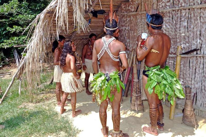 亞馬遜地區有其獨特的性文化。(示意圖,非文中部落/eismannhans@pixabay)
