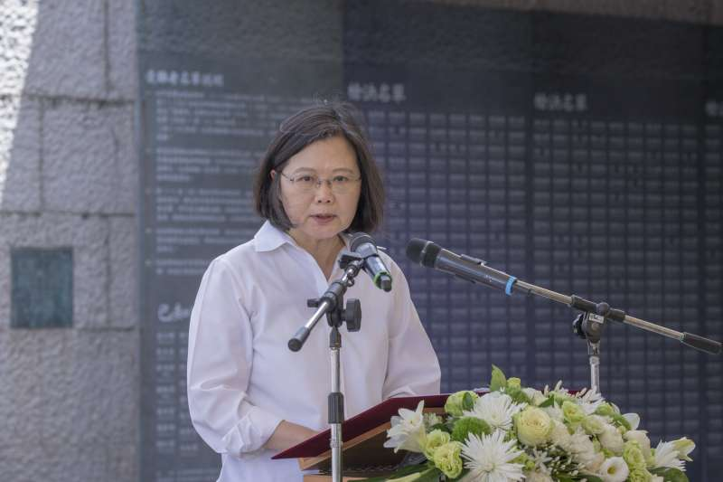 讚嘆總統,國發會說台灣已擺脫悶經濟泥沼!(總統府提供)