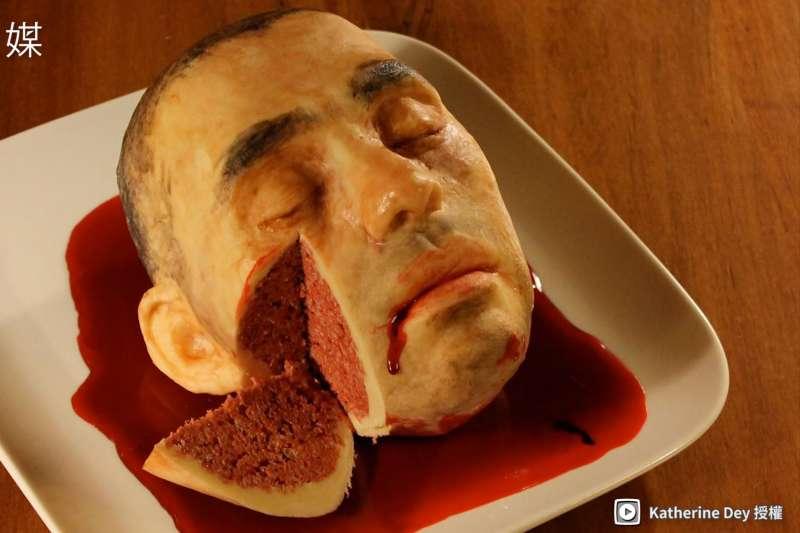 慎入!超逼真人體蛋糕端上桌 驚悚程度破表!敢不敢來一口?