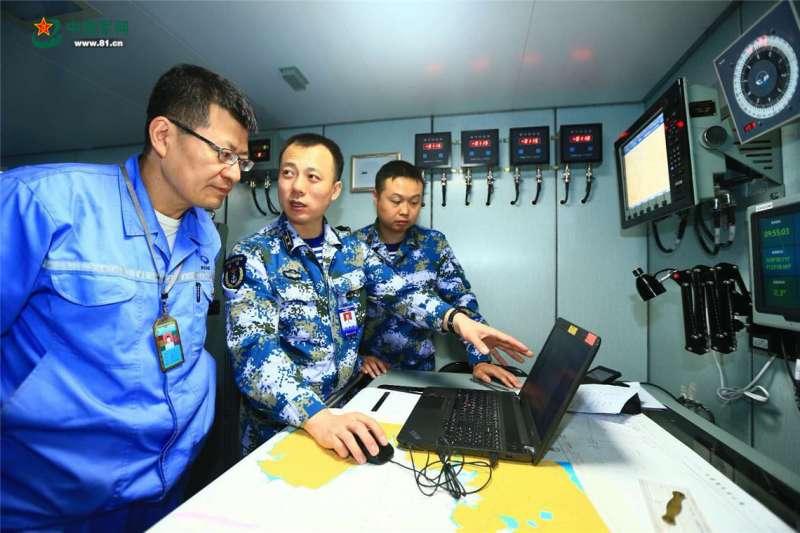 中國首艘國產航母完成第一次海試。(中國軍網)