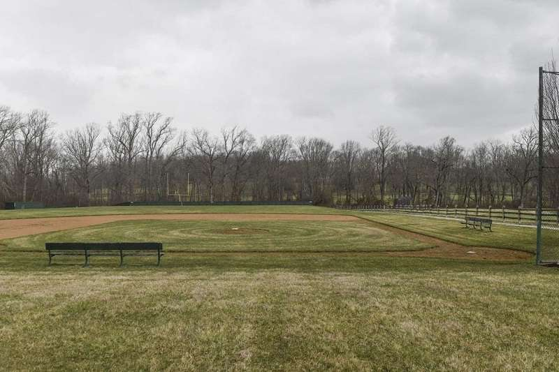 「鐵人」小瑞普肯的莊園中的私人棒球場。 (圖片取自華盛頓郵報)