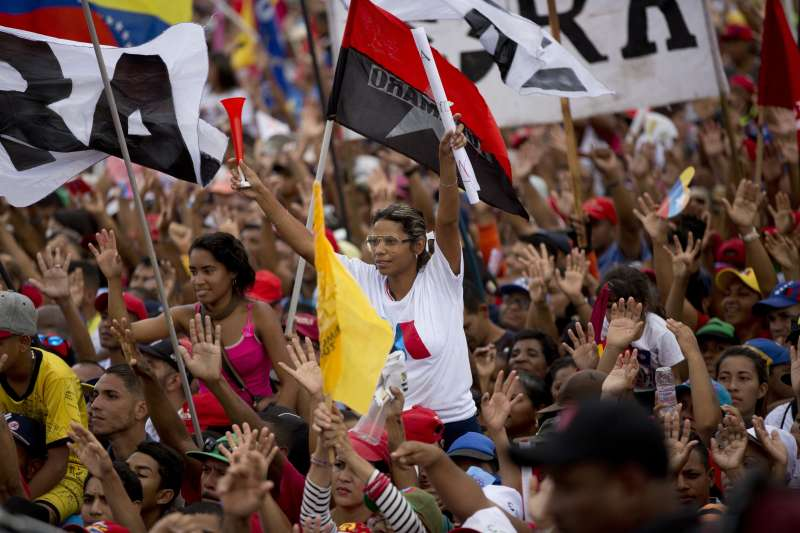 2018年5月20日委內瑞拉舉行總統大選(AP)
