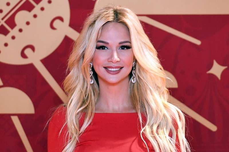 俄羅斯世足大使蘿比雅娃(Victoria Lopyreva),是俄國知名節目主持人。(美聯社)