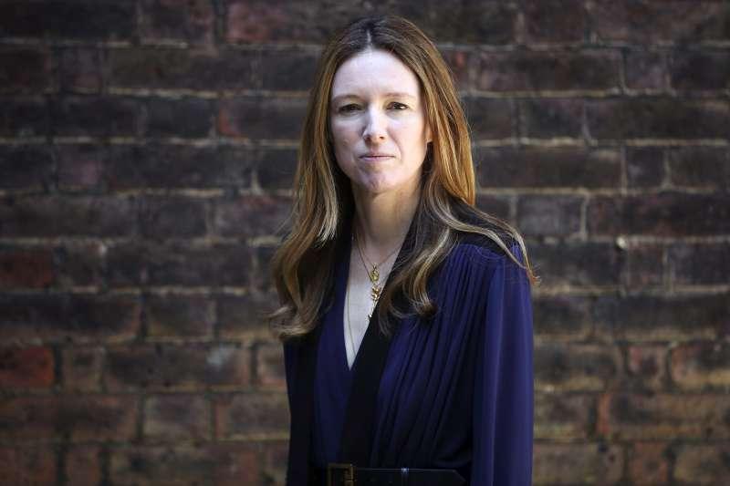 為梅根設計婚紗的英國設計師凱勒(美聯社)