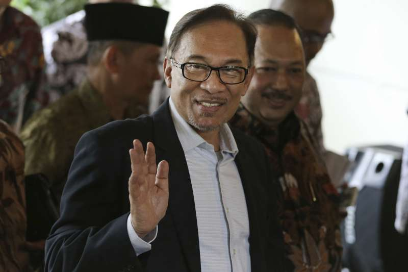 馬來西亞前副總理安華(AP)