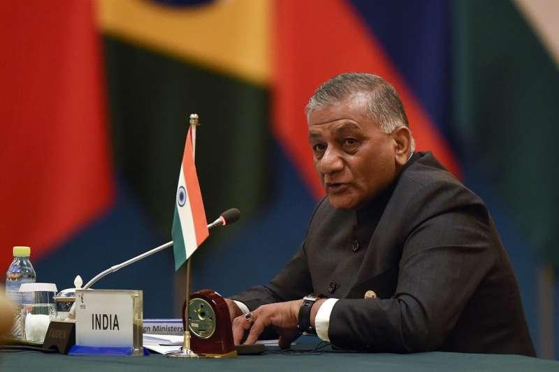 印度外交部長辛格率團訪問北韓(AP)