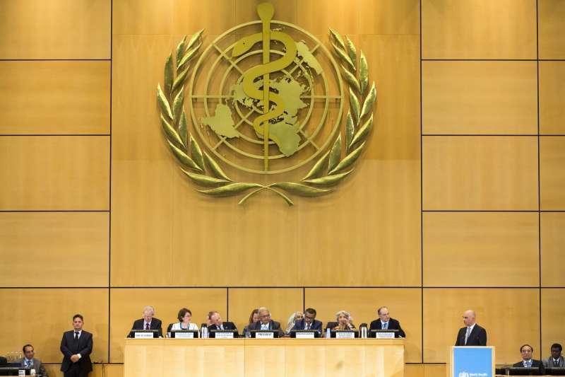 20180521-世界衛生大會(WHA)21日在瑞士日內瓦登場。(取自美聯社)