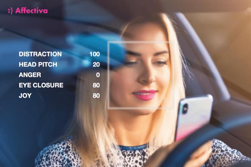 麻省理工旗下的媒體實驗室 Affectiva 專門研發情緒辨識軟體可以偵測駕駛情緒和清醒狀態。(圖/智慧機器人網提供)