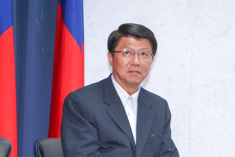 國民黨台南市黨部主部主委謝龍介(陳明仁攝)
