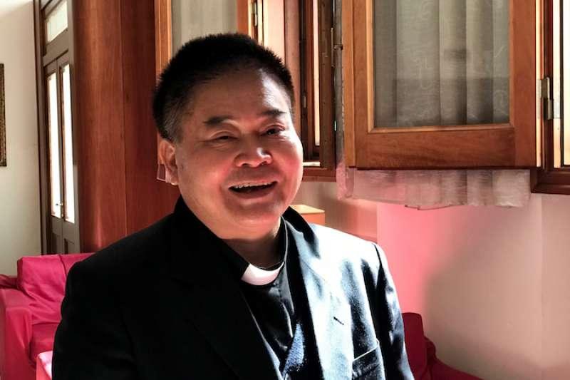 劉振忠主教。(曾廣儀攝)