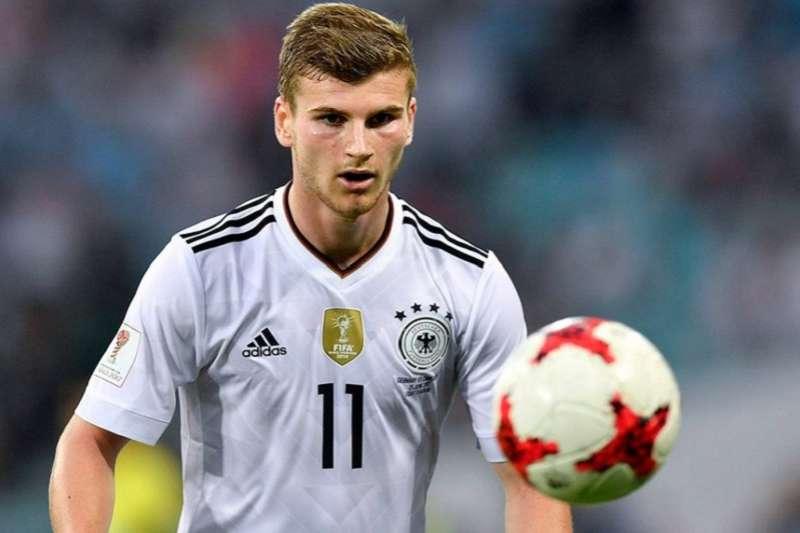 德國前鋒維爾納也是今年世足金靴獎熱門人選。(美聯社)