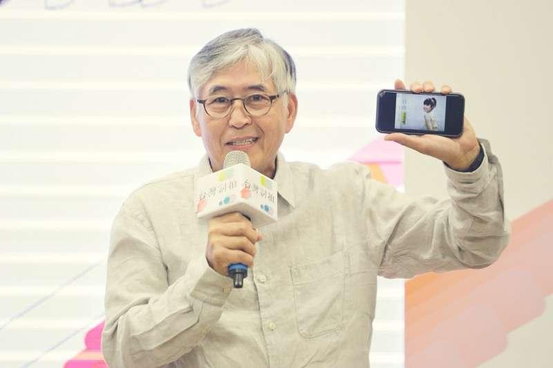 中華文化總會舉辦的「2018台灣討拍」影片徵件活動,圖中為導演柯一正。(中華文化總會提供)
