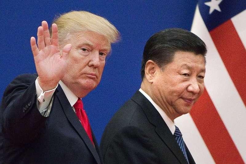 川普(左)表示,他和習近平將會永遠是好朋友。(BBC中文網)