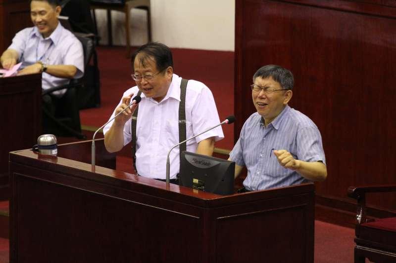 20180524-台北市議會總質詢,台北市市場處處長許玄謀發言。(陳韡誌攝)