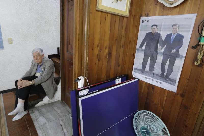 2018年5月,北韓前間諜渴望回家。(AP)