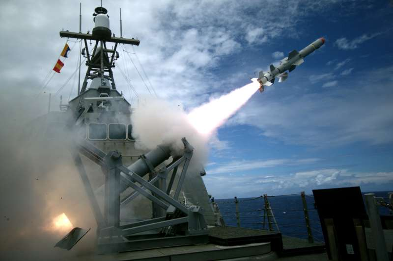 環太平洋聯合軍演:2016年參加演習的美國戰鬥艦科羅納多號(翻攝US Navy)
