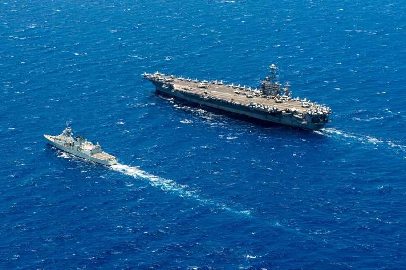 環太平洋聯合軍演:2016年參加演習的加拿大皇家海軍驅逐艦(翻攝US Navy)