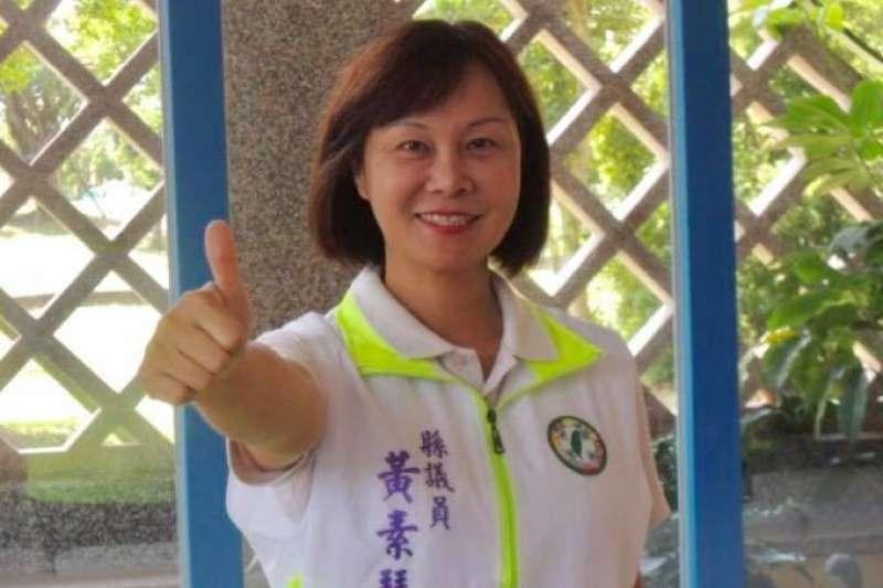 宜蘭縣代理縣長陳金德前妻、民進黨籍縣議員黃素琴今(25)日宣布參選羅東鎮長。(取自黃素琴臉書)