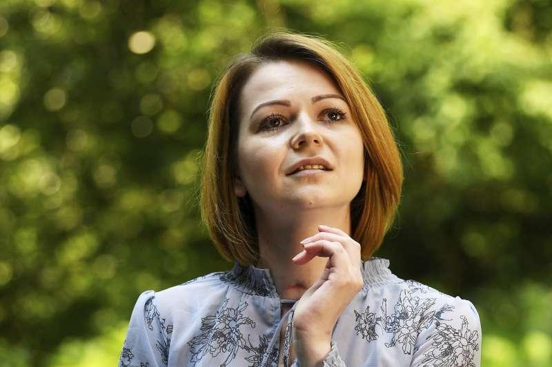 2018年5月23日,前俄羅斯情報人員斯克里帕爾的女兒尤莉亞(Yulia Skripal)在與父親遭到神經戰劑攻擊之後首度接受媒體訪問(AP)