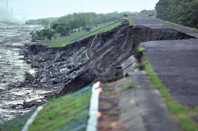 圖說:八八風災堪稱台灣50年來最嚴重的淹水災情