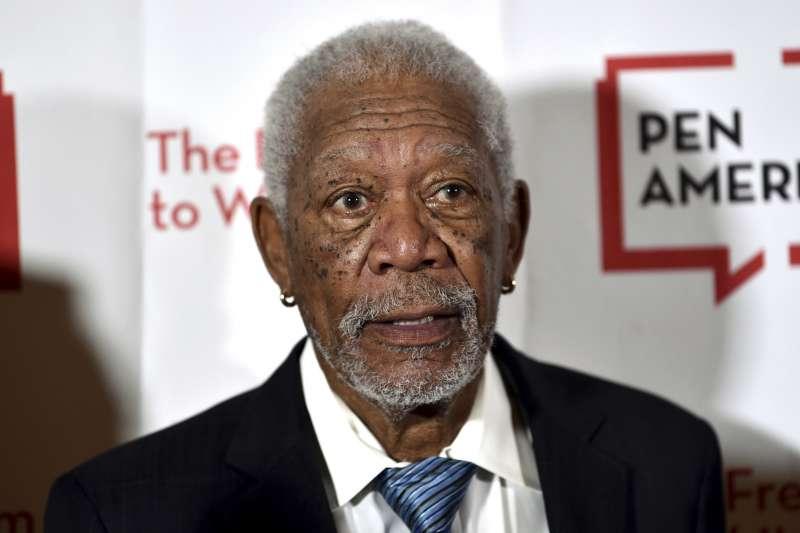 好萊塢影星摩根費里曼(Morgan Freeman)(AP)