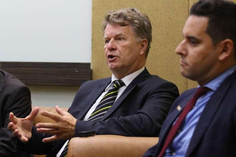 20180525-「2018國際家庭日 國際修法論壇」, 荷蘭前國會議員 Boris Dittrich出席。(陳韡誌攝)